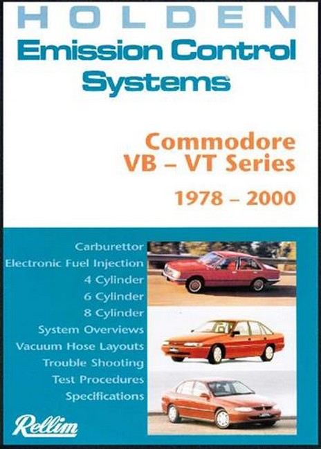 Product rellim holden emission control systems commodore vb vt 1978 2000 sciox Gallery