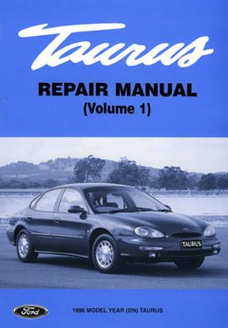 Ford Taurus Dn  On Workshop Manual