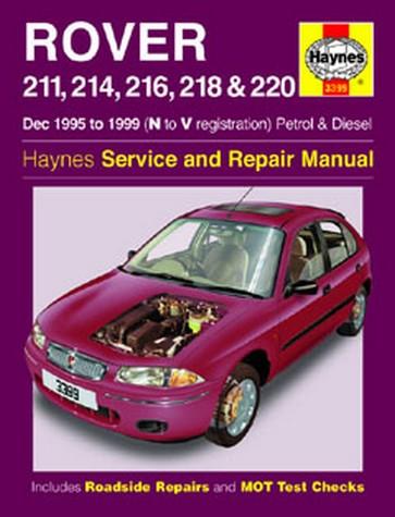 rover 800 series 820 825 827 1986 1999 workshop repair manua
