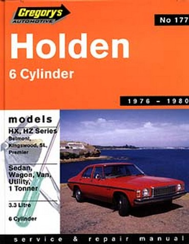 Product holden hx hz 6 cylinder 1976 1980 repair manual sciox Gallery