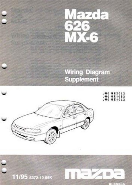 Product mazda 626 ge mx 6 ge 111995 on wiring diagrams asfbconference2016 Image collections
