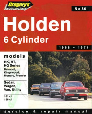 Product holden hk ht hg 6 cylinder 1968 1971 repair manual sciox Gallery