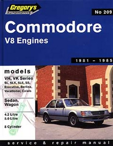 Product holden commodore vh vk v8 1981 1985 repair manual fandeluxe Choice Image