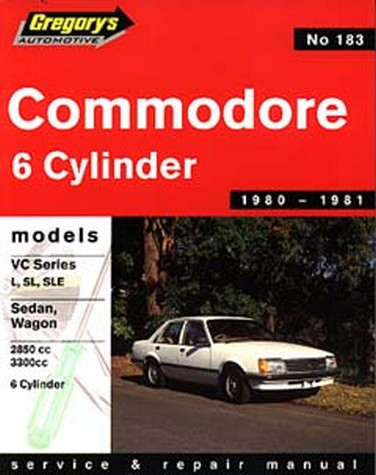 Product holden commodore vc 6 cylinder 1980 1981 repair manual sciox Gallery