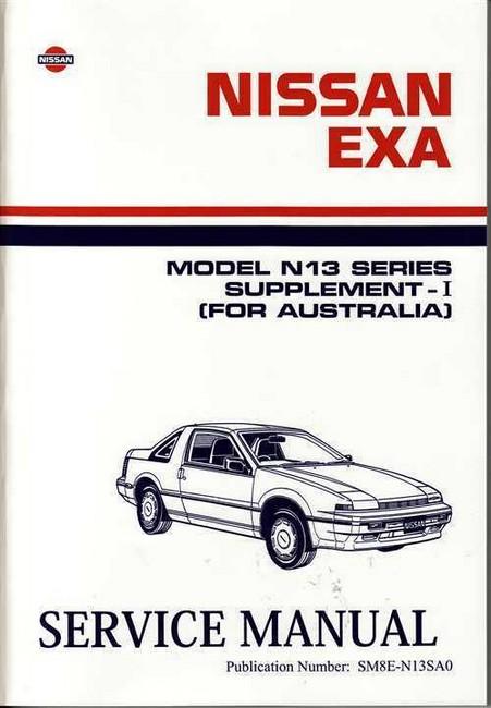 Strange 89 Nissan Exa Workshop Manual Ebook Wiring Database Numdin4X4Andersnl