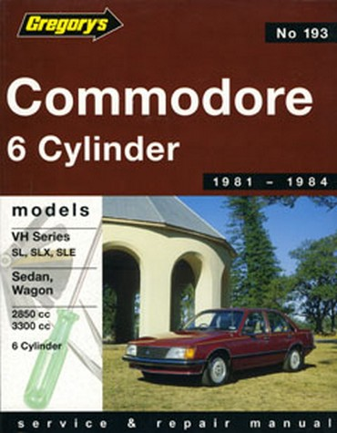 Product holden commodore vh 6 cylinder 1981 1984 repair manual sciox Gallery