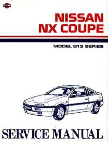 nissan pathfinder r50 series workshop manual 1998