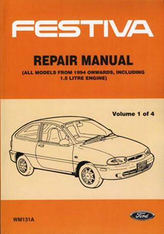 91 ford festiva repair manual