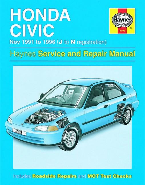 honda civic service manual d14a4