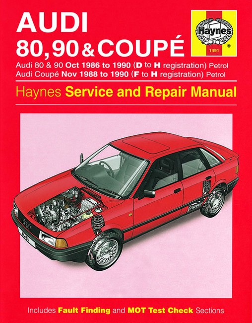 audi 100 1989 factory service repair manual