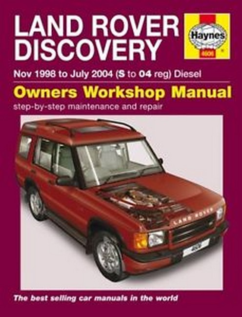 Product land rover discovery ii diesel 1998 2004 repair manual sciox Image collections