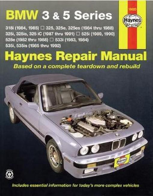 bmw 525i 1989 1995 workshop service manual repair