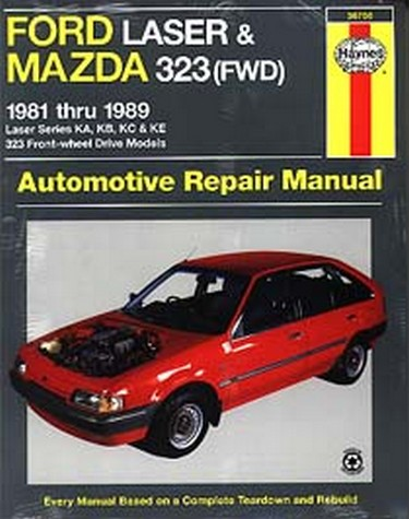 mazda 323 1988 1992 workshop manual
