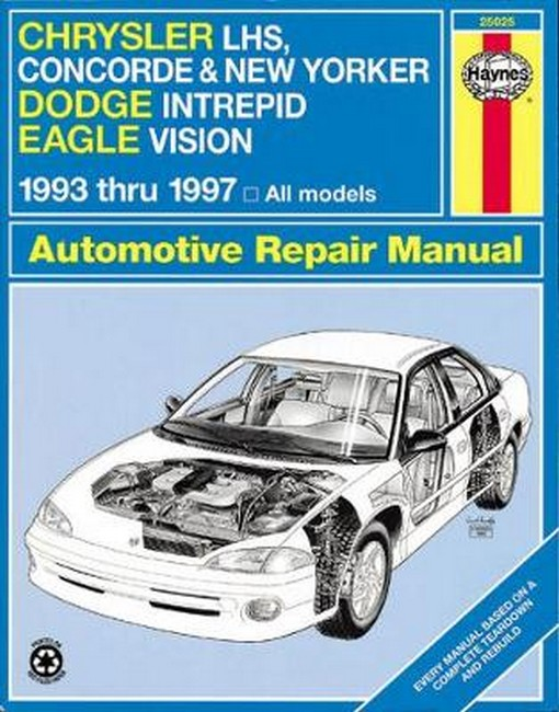 dodge intrepid 1993 1997 workshop repair service manual pdf
