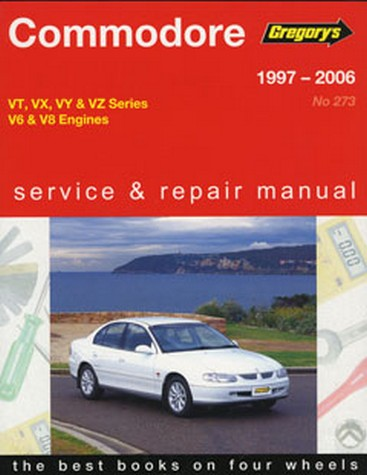 Product holden commodore vt to vz ii v6 v8 1997 2006 repair manual sciox Gallery