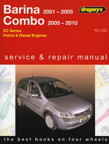 Product holden barina combo xc petrol diesel 2001 2005 repair manual fandeluxe Choice Image