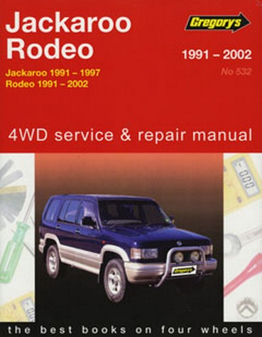 Product holden jackaroo rodeo petrol 1991 2002 repair manual fandeluxe Choice Image