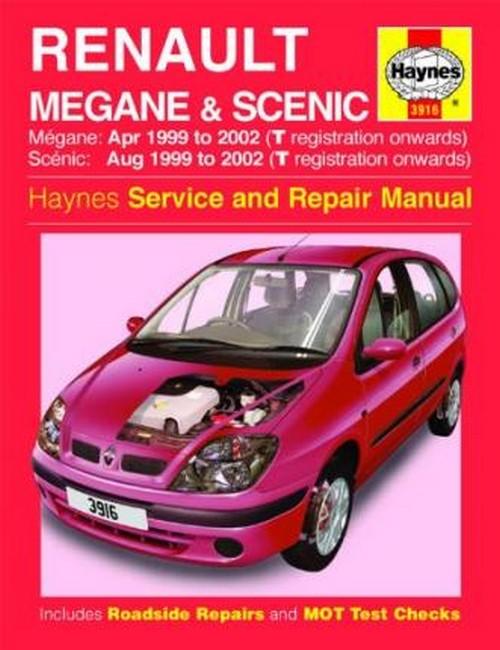 product renault megane scenic petrol diesel apr 99 02 service and repair manual