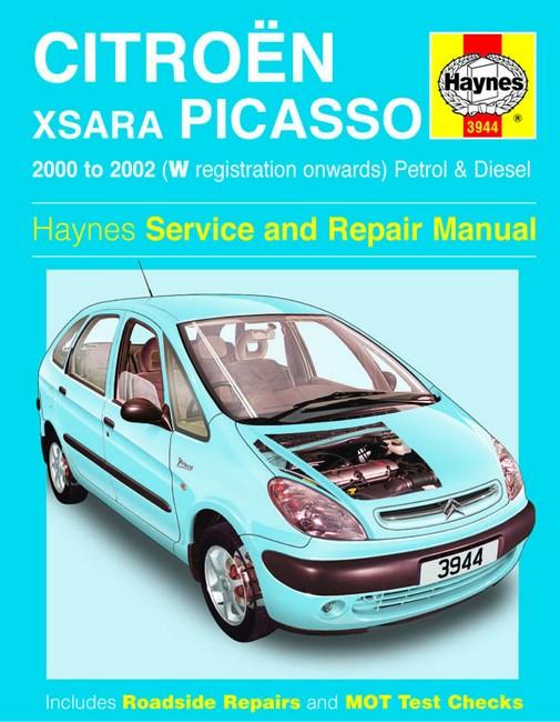 Bestseller  Haynes Manual Citron Xsara Picasso Petrol