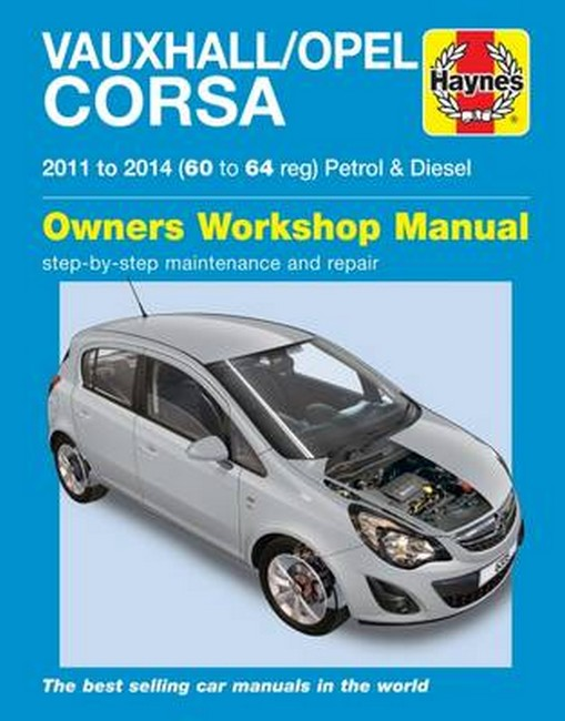 Product vauxhallopel corsa petrol and diesel owners workshop manual fandeluxe Choice Image
