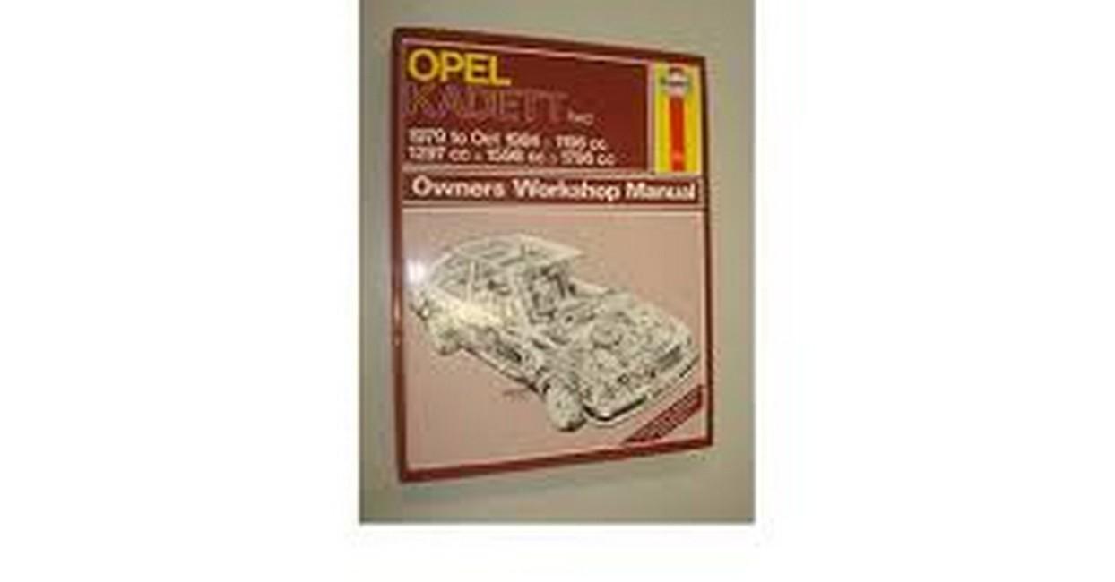 Opel Kadett FWD 1979-84. Owner's Workshop Manual ...