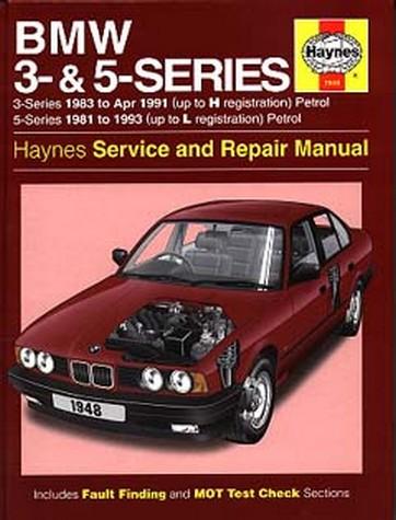 bmw 528i service repair workshop manual 1981 1988